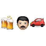 100 pics Emoji 2 answers Drink Driving