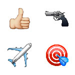 100 pics Emoji 2 answers Top Gun