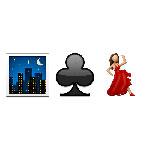 100 pics Emoji 2 answers Nightclubbing