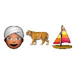100 pics Emoji 2 answers Life Of Pi
