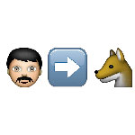 100 pics Emoji 2 answers Werewolf